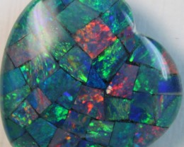 14.5 cts AAA + MOSAIC TOP CRYSTAL OPAL USE TO MAKE THESE MOSAICS C8426