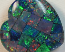 14.4 cts AAA + MOSAIC TOP CRYSTAL OPAL USE TO MAKE THESE MOSAICS C8431