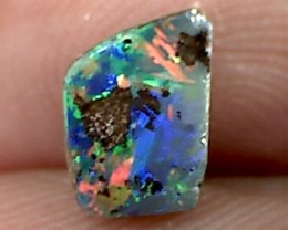 1.10ct Lovely Multi Colour Boulder Opal, Queensland, ST85