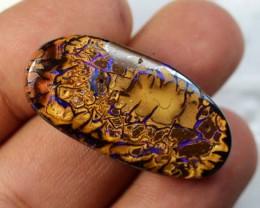 31cts 37x18mm Australian Boulder Opal Cut Stone C-175