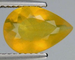 1.35 Cts Natural Mexican Yellow Fire Opal Pear- NR Auction