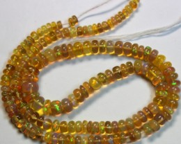 56  CTS ETHIOPIAN WELO 100% NATURAL OPALBEADS TOP COLORPLAY  C8600