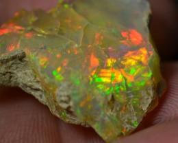 17ct Quality Rough Ethiopian Wello Opal Specimen