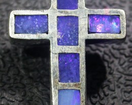 Inlay silver Cross  Pendant AGR 1172