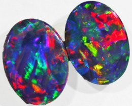 1.3 CTS QUALITY GEM FIRE DOUBLET PAIR9 [Q1952]