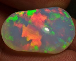 15ct Bright Natural Ethiopian Welo Magic Opal