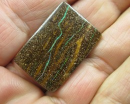 C/O 36cts,BRIGHT MULTI COLOUR BOULDER OPAL.