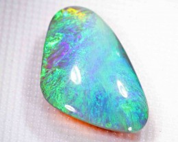 FREE SHIPPING  7.60 ct BLACK OPAL FROM LR