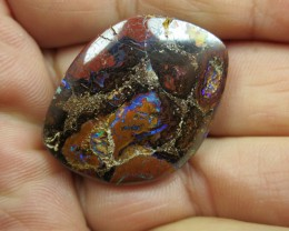 C/O 57cts,WE MINE ~ BOULDER MATRIX OPAL.
