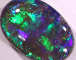 0.70 CTS CRYSTAL OPAL LIGHTNING RIDGE ELECTRIC COLORPLAY C9140