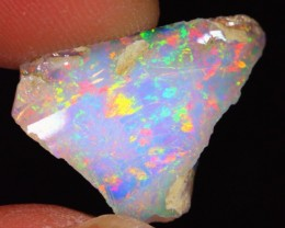 6Ct Pinkish Color Play Natural Ethiopian Welo Rough Opal