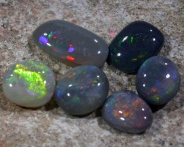 5.00 CTS DARK OPAL PARCEL LIGHTNING RIDGE [SO5414]