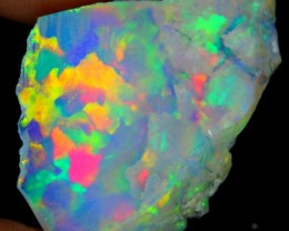5Ct Bright 5/5 Rainbow Sails Natural Ethiopian Welo Rough Opal