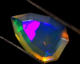 Neon Crystal Faceted Wello Opal Cts 1.05   Fa31