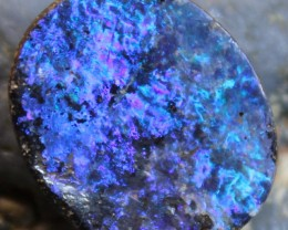 10.15 CTS BOULDER OPAL ELECTRIC NEON BLUE FLASH C9249