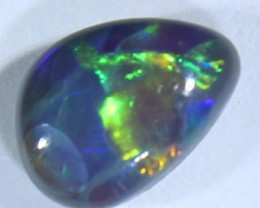 0.60 CTS BLACK OPAL POLISHED STONE LIGHTNING RIDGE C9288
