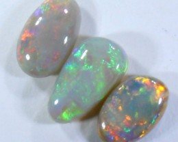 1.50 CTS BLACK OPAL POLISHED STONES PARCEL LIGHTNING RIDGE C9358
