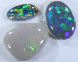 1.30 CTS BLACK OPAL POLISHED STONES PARCEL LIGHTNING RIDGE C9359
