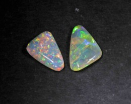 BRIGHT OPAL PAIR FROM LR - 1.50 CTS