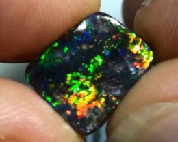 2.75 ct $1 NR Electric Gem Bright Color Natural Queensland Boulder Opal