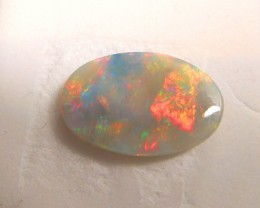 Stunning Multi Color Flashing Black Crystal Opal - Lightning Ridge - PA07