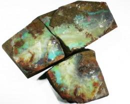 THREE Good Boulder opals    QOM1620