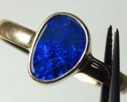 DOUBLET OPAL SILVER RING 11.70  CTS OF-975