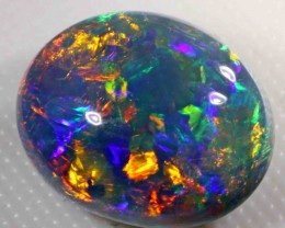 8.70 CTS BRILLIANT BLACK OPAL  - HIGH DOME - EXCELLENT