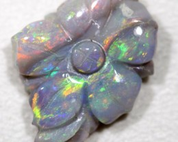 Flower Opal Carvings