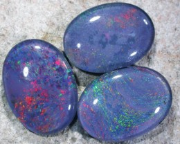 CHECK VIDEO!!! PARCEL  TRIPLET OPALS  T144