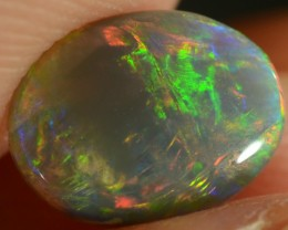 Crystal Opal - ID:20274 Perfect Oval Shine Multicolour 100% Natural Austral