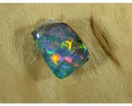 Boulder Opal - ID:20313 Freeform Amazing Shine Multicolour 100% Natural Aus