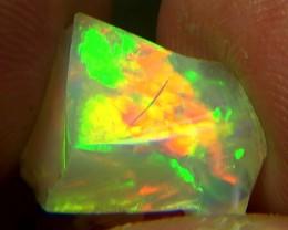 6.30 cts Ethiopian Welo FLASH HONEYCOMB opal N7 4/5