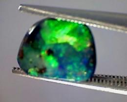 1.60ctct Multi Color Solid Boulder Opal - Australia - ST205