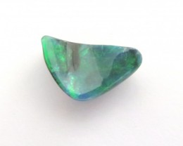 1.70 Ct Black Opal Cut Stone from Lightning Ridge