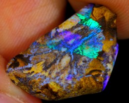 4ct Boulder Matrix Rough Opal