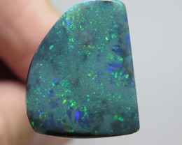 5.97 Ct Lightning Ridge Black Opal