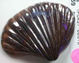 HAND CARVED OPAL SHELL 37 CARATS    R 1740