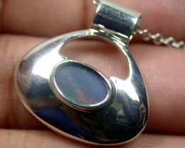 BEAUTIFUL DOUBLET OPAL PENDANT SCO1586