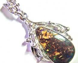 Koroit Opal 925 Silver Pendant 45cts L2303