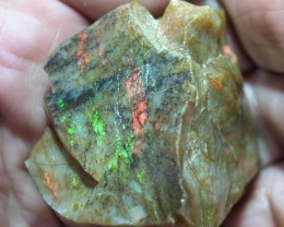 New find, unlike any other Ethiopian opal: specimen, 186ct