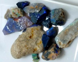 BLACK OPAL ROUGH  L. RIDGE 95 CTS DT-4508