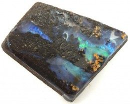 BOULDER OPAL ROUGH  86.75 CTS DT-4526