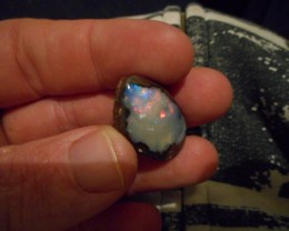 31ct Multicolour Boulder Opal Polished Stone
