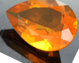 Faceted Australian Fire Opal
