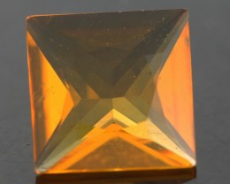 .53 CTS FACETED FIRE OPAL FROM  WEST AUSTRALIA [SHF7 ]
