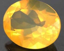 1.79 CTS FACETED FIRE OPAL FROM  WEST AUSTRALIA [SHF6]