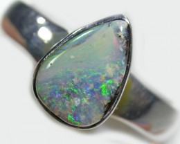 Koroit Boulder Opal ring BU 413
