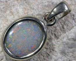 firwe white opal 18K  Opal Pendant  BU 425