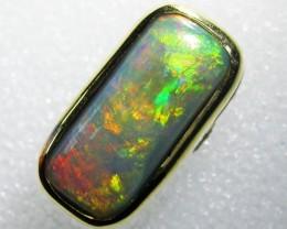 multi fire18K  Opal Pendant  BU 427